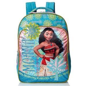 """Disney Girls' Moana 16"""" Backpack - NWT"""